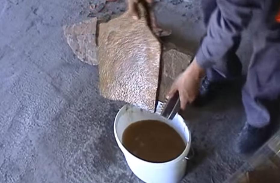 Подготовка камня