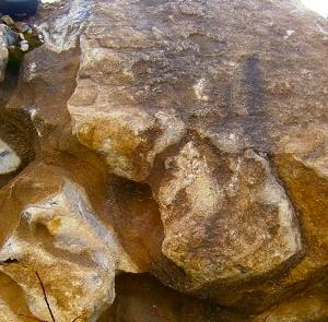 Карстовый мрамор
