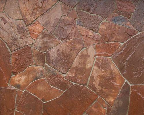 обоженный песчаник